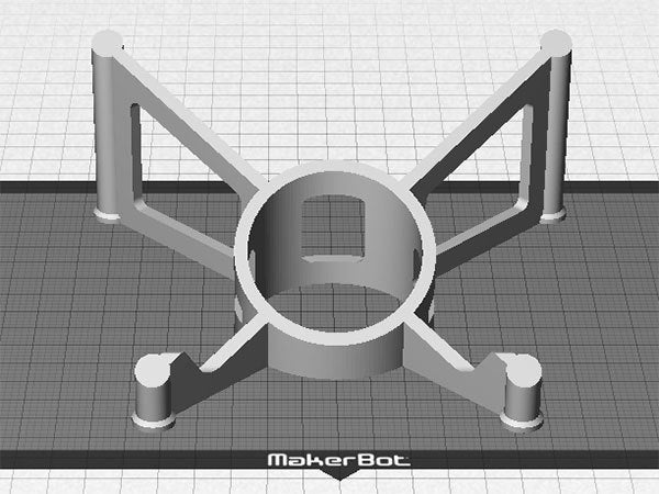 print_4_display_large.jpg Download free STL file Tablet Stand - Modern style iPad / Tablet stand for use on a desk • 3D printing object, Muzz64