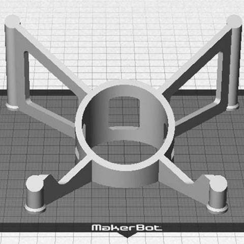 Télécharger fichier impression 3D gratuit Support de tablette - Style moderne iPad / Support de tablette pour une utilisation sur un bureau, Muzz64