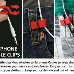Descargar modelo 3D gratis Clip para cable de auriculares, Muzz64