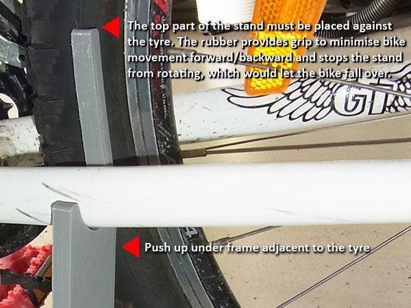 instructions_display_large.jpg Télécharger fichier STL gratuit Support à vélo - 2 pièces pour utilisation sur route • Objet à imprimer en 3D, Muzz64