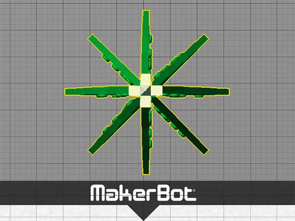 xtree_top_display_large.jpg Download free STL file Christmas Tree - Your own personal mini 3D printed Christmas tree with coloured decorations! • Object to 3D print, Muzz64