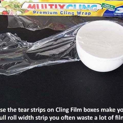 83111e66eca15edb848618541dd3e921_display_large.jpg Download free STL file E-Z Tear - Cling Film Tearing Tool • 3D print template, Muzz64