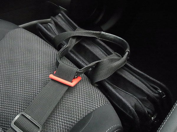 fitted_1_display_large.jpg Download free STL file Car Bag Restraint - Stops your bag flying forward in your car • Design to 3D print, Muzz64