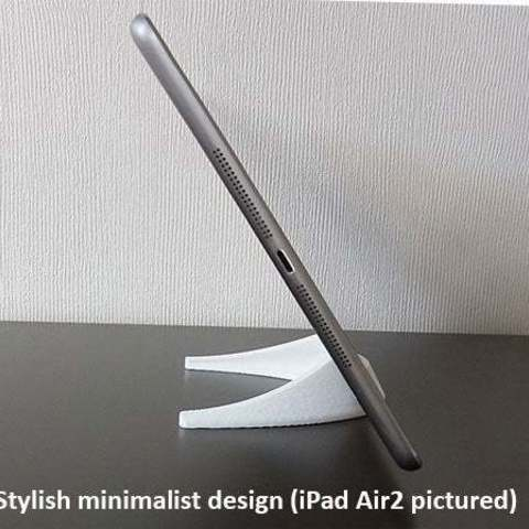 1cc0b21209725e6bd9bef9fa7661355c_display_large.jpg Download free STL file Tablet / Phone Stand • Object to 3D print, Muzz64