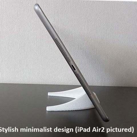 1cc0b21209725e6bd9bef9fa7661355c_display_large.jpg Télécharger fichier STL gratuit Tablette / Support Téléphone • Modèle à imprimer en 3D, Muzz64