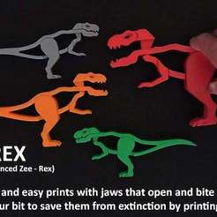 Download free 3D printing templates Z-REX, Muzz64