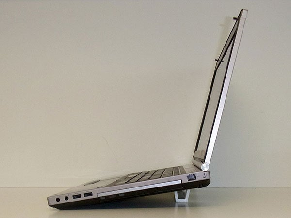"""main_display_large.jpg Download free STL file """"Tilt Bar"""" angles Laptop Keyboards for improved comfort, ease of use and convenience • 3D printing design, Muzz64"""