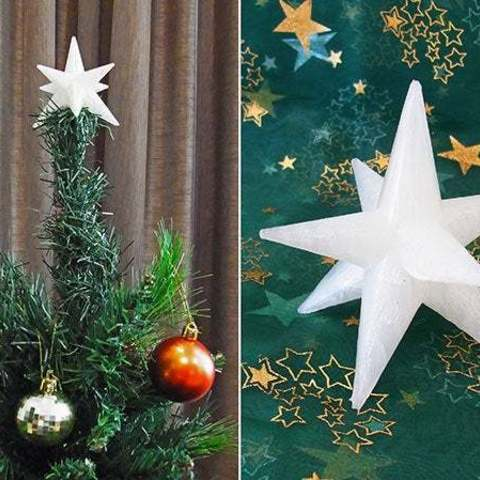 cstar_01_display_large.jpg Download free STL file Christmas Star - For the top of your Christmas Tree! • 3D printer template, Muzz64