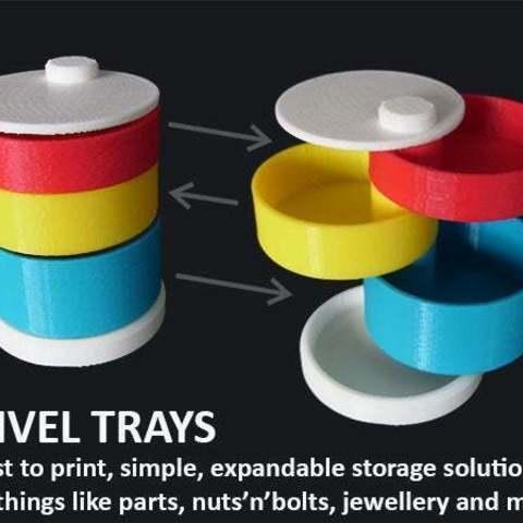 Descargar diseños 3D gratis Bandejas giratorias, Muzz64