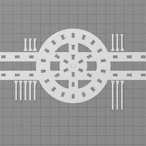 digitizer-base_display_large.jpg Download free STL file Digitizer Scanner Mutliscan Plate • 3D print object, Muzz64