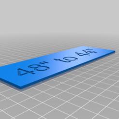 Télécharger objet 3D gratuit Warhammer 40k : nouveaux marqueurs de taille minimum pour les tableaux, seanbaker408