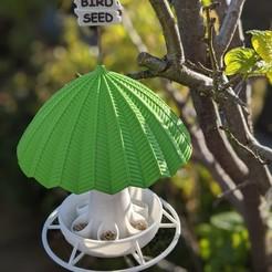 Download STL files BIRD FEEDER (Free bird seed), rendez2k