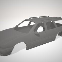 Volvo V70 cpmbi.jpg Télécharger fichier STL Volvo V70 combi 1/10 scale RC BODY • Plan pour imprimante 3D, DraiD
