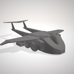 Download 3D printer files M.A.S.S.K. Transportplane, DraiD