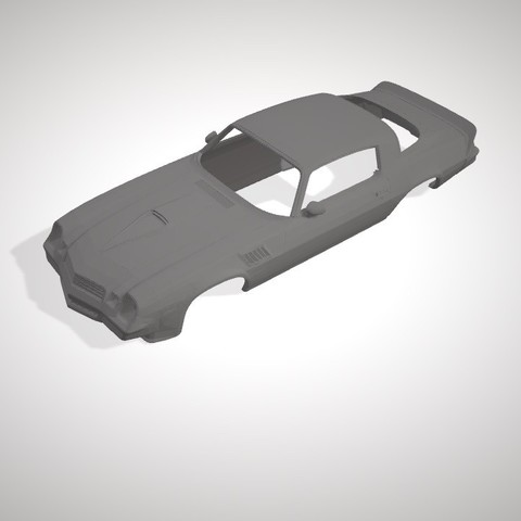 3D printer files CAMARO Z28 1979 RC BODY, DraiD