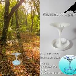 2imagenesMONTAJE.jpg Télécharger fichier STL abreuvoir pour oiseaux, piscine pour oiseaux, abreuvoir pour oiseaux • Objet pour imprimante 3D, objetoimpreso