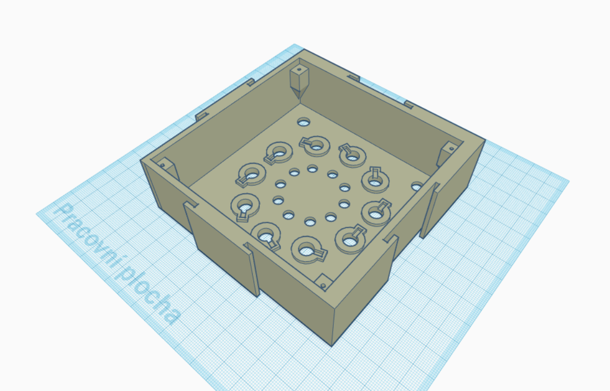 1.PNG Download STL file Baby10 synth - puzzle box • Design to 3D print, Wivry