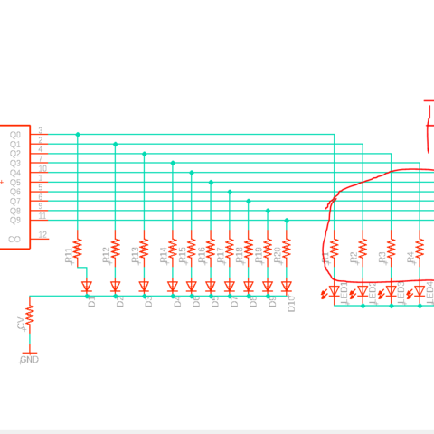sch.PNG Download STL file Baby10 synth - puzzle box • Design to 3D print, Wivry