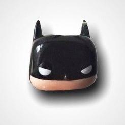 Télécharger fichier STL gratuit Planteur Batman • Objet imprimable en 3D, estuar_sandoval