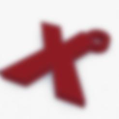Download free 3D printer model Tedx X keyring, SeoRiz
