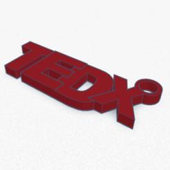 Download free 3D model TEDx Keyring , SeoRiz