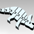 Download free STL file Flexi Triceratops • Model to 3D print, AndyFuentes22