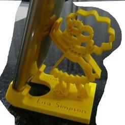 P1080864.JPG Télécharger fichier STL ASSISTANCE PAR TÉLÉPHONE PORTABLE LISA SIMPSON • Objet imprimable en 3D, fabiomingori