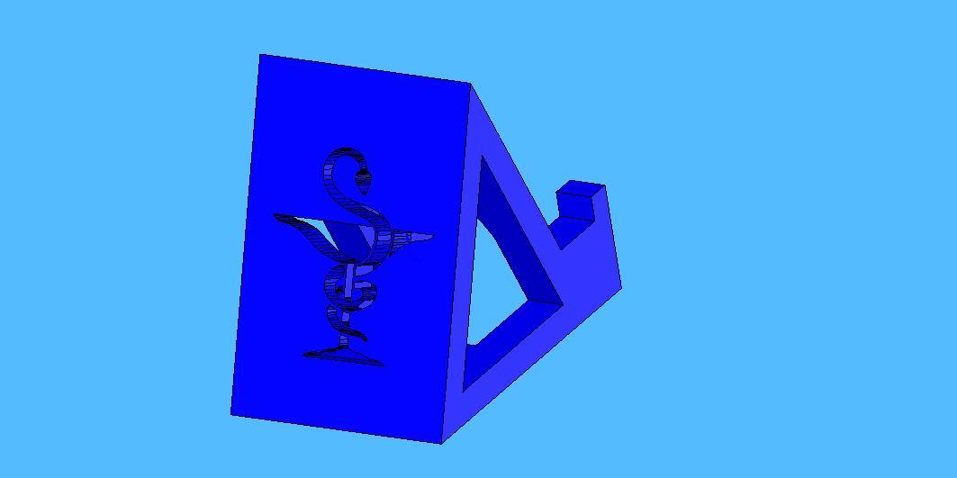 farmacia4.jpg Télécharger fichier STL gratuit Cours de pharmacie de soutien par téléphone portable - Suporte para celular Farmácia • Objet à imprimer en 3D, fabiomingori