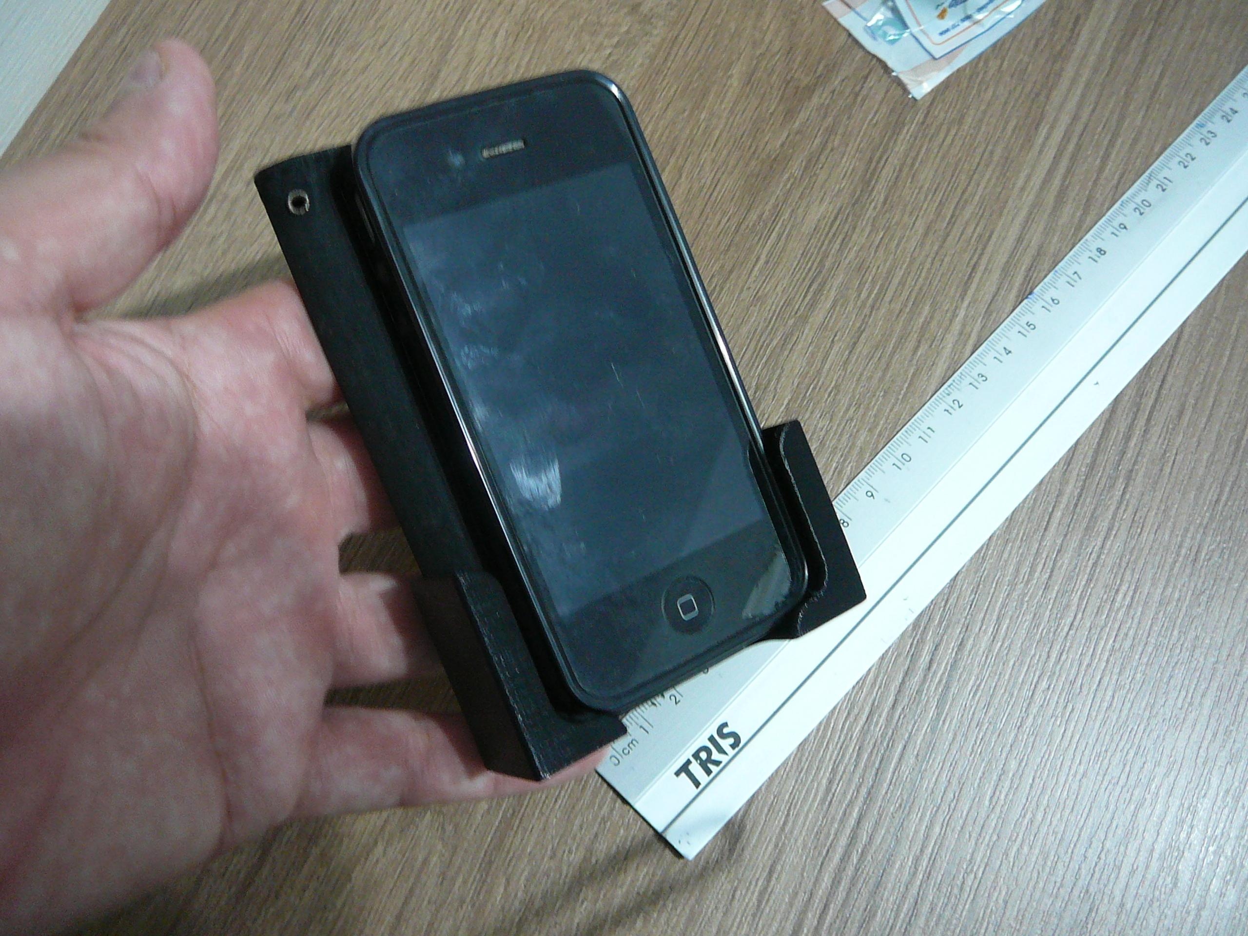 P1080922.JPG Télécharger fichier STL gratuit Le support contrôle la télécommande ou le téléphone portable • Design pour imprimante 3D, fabiomingori