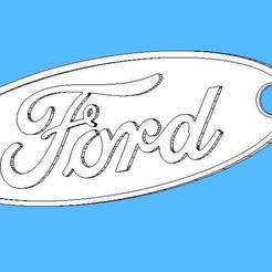 Télécharger fichier impression 3D gratuit Serrurier Ford - Chaveiro Ford, fabiomingori