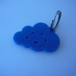 Télécharger fichier STL gratuit serrurier - Chaveiro - porte-clés - cloud - nuvem • Objet à imprimer en 3D, fabiomingori