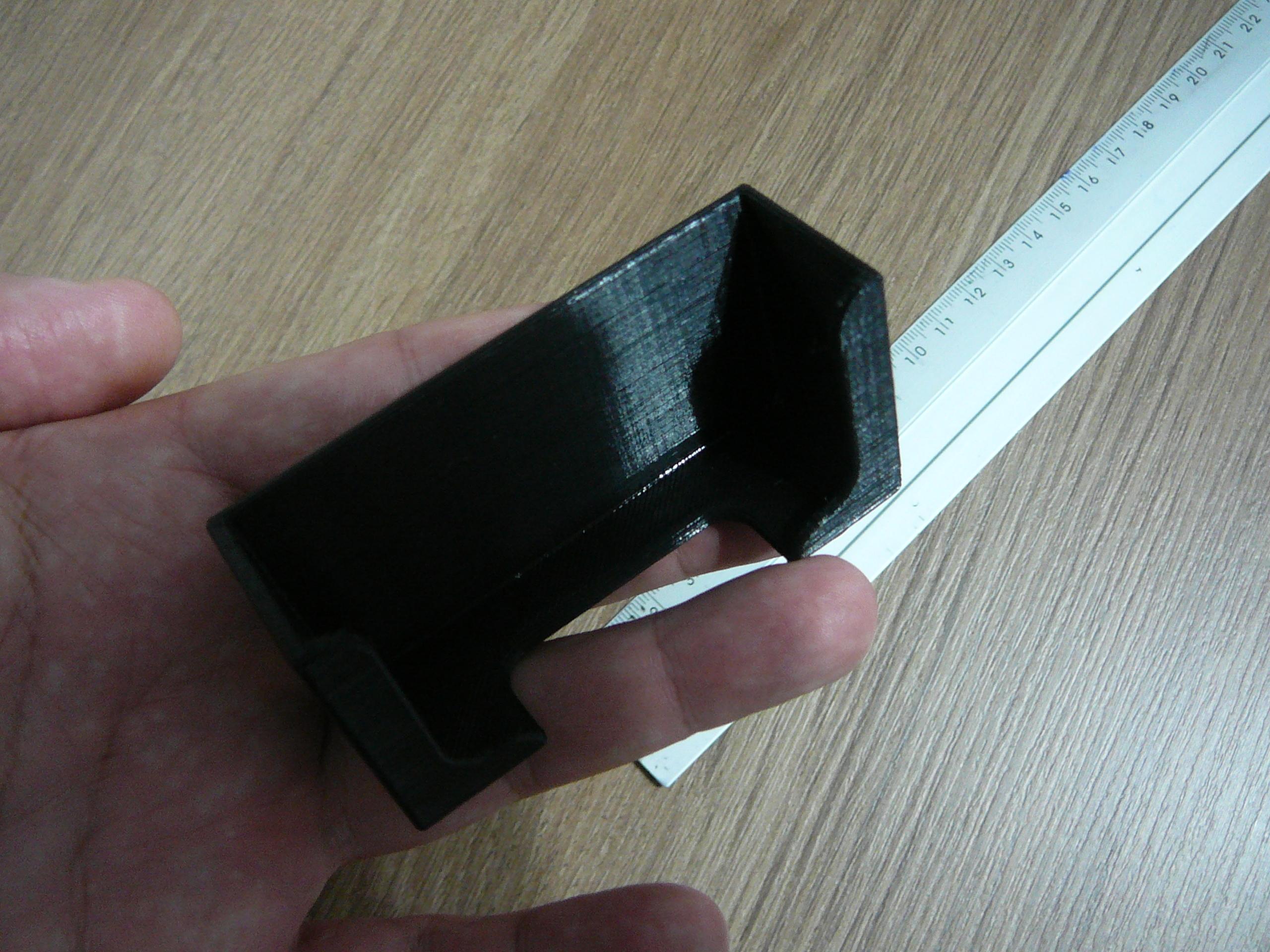 P1080924.JPG Télécharger fichier STL gratuit Le support contrôle la télécommande ou le téléphone portable • Design pour imprimante 3D, fabiomingori