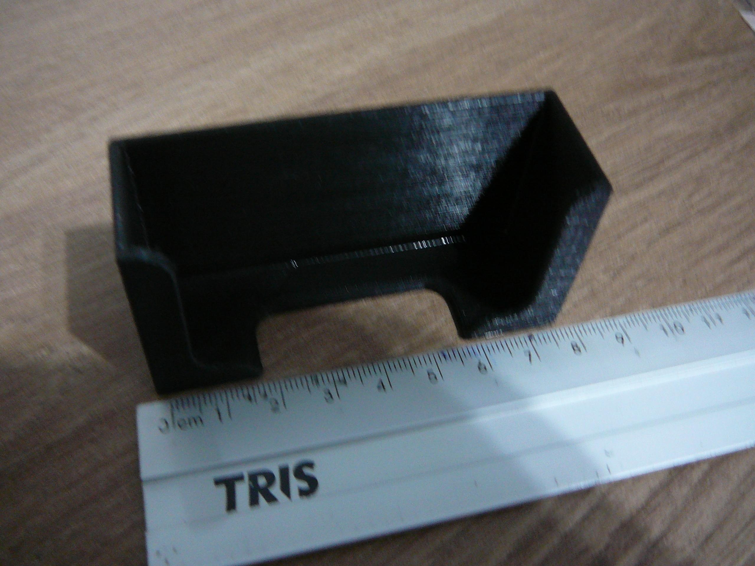P1080921.JPG Télécharger fichier STL gratuit Le support contrôle la télécommande ou le téléphone portable • Design pour imprimante 3D, fabiomingori