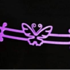 Mariposa.png Download STL file Slavaorejas - Ear saver • 3D printable template, miguelito09838