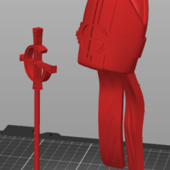 Capture.PNG Download STL file The band Ghost Papa Mitre and Ferula (Grucifix Staff) • Template to 3D print, mraaronhorton