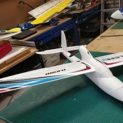 IMG_20201120_131059.jpg Download STL file Fixler Fuselage .. a 3 D Printed fuselage to suit the ... Bixler 2 wings • 3D printer template, lockey