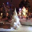 Download free 3D printer designs Christmas tree - Christmas tree (style 2), sandygantois