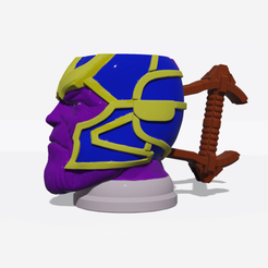 Download 3D printing models Thanos mug glass cup, gustypera