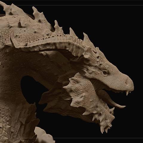 Descargar modelos 3D para imprimir Dragón, 3Dci