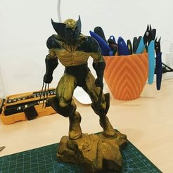 Download free 3D printer designs wolverine, year1984wee