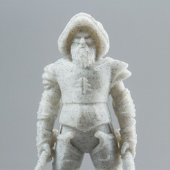 Download 3D print files Santaking - Warrior of the North, Wekster