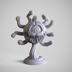 Download 3D printer designs Beholder Pumpkin, Wekster