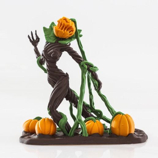 Télécharger plan imprimante 3D Pumpkin Queen - Simple et Multimatériau, Wekster