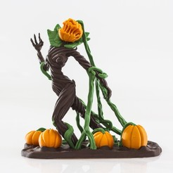 Download 3D printer files Pumpkin Queen - Single and Multimaterial, Wekster
