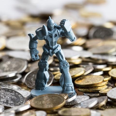 Download 3D printer model Shield Guardian, Wekster