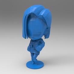 Télécharger modèle 3D Adroid 18 Chibi, rapbena