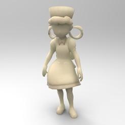 untitled.117.jpg Download OBJ file Nurse Joy from pokemon saga • 3D printable design, rapbena