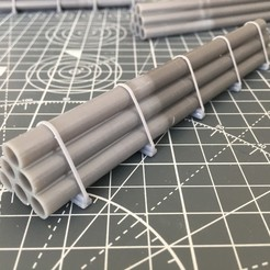IMG_2532.JPG Télécharger fichier STL Chargement de 6 tuyaux pour wagon HO • Design imprimable en 3D, Dadal_37