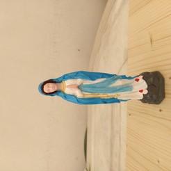 Descargar archivos STL gratis Virgen María, marconito22