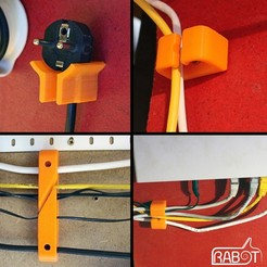 Download free 3D printer model Cable management, Rabot